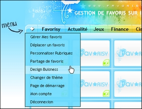 Favorisy Changer de design